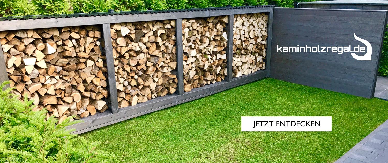 Kaminholzregal - Holzunterstand - Kaminholz
