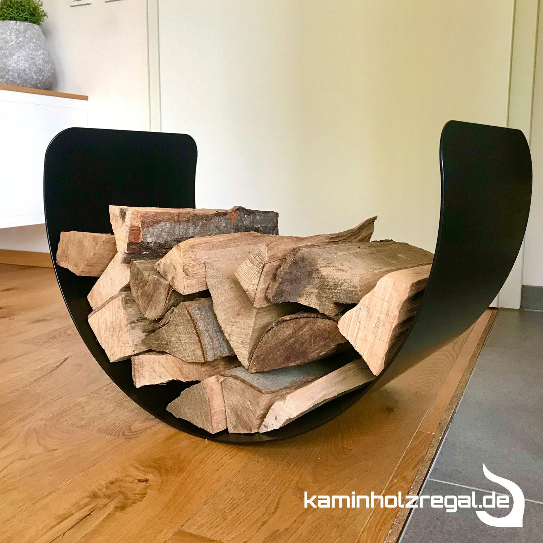 Schale fuer Kaminholz